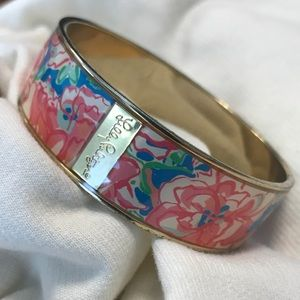 Lilly Pulitzer Floral Bangle